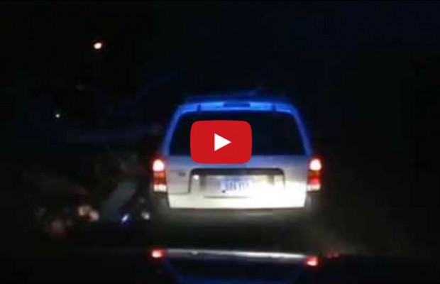 Cop Hit by Falling Tree During Routine Traffic Stop