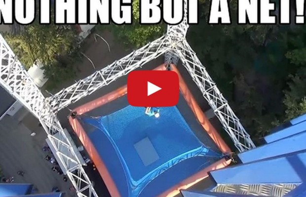 Nothing But A Net….Crazy Thrill Ride!